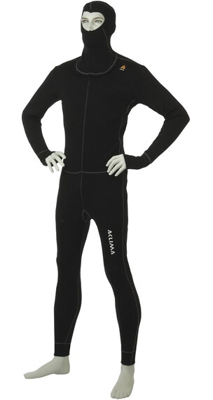 Aclima M's Warmwool Overall Jet Black
